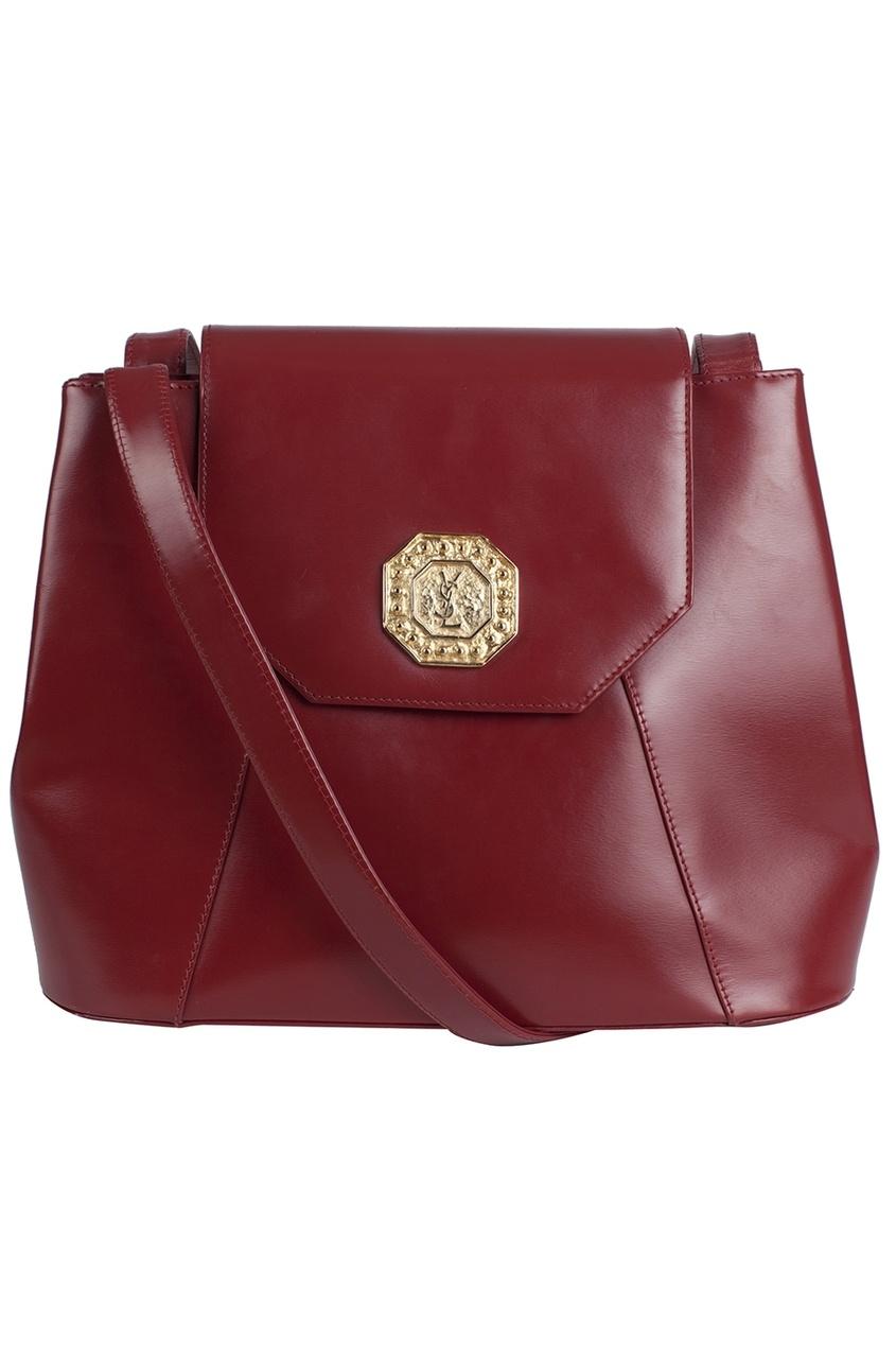 Yves Saint Laurent Vintage Кожаная сумка (80-е)