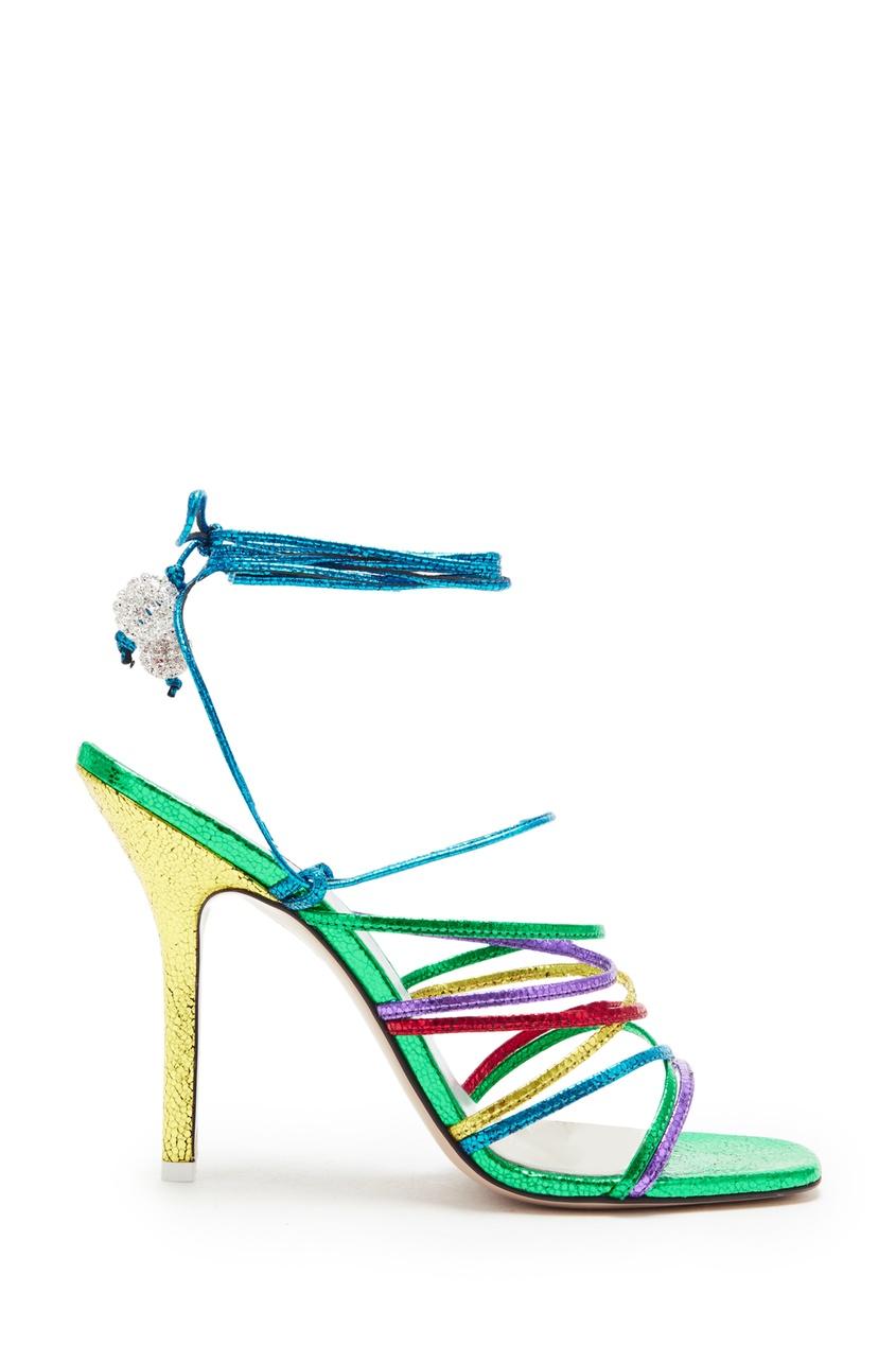 Разноцветные босоножки Eve Attico 1869142850 Multicolor фото