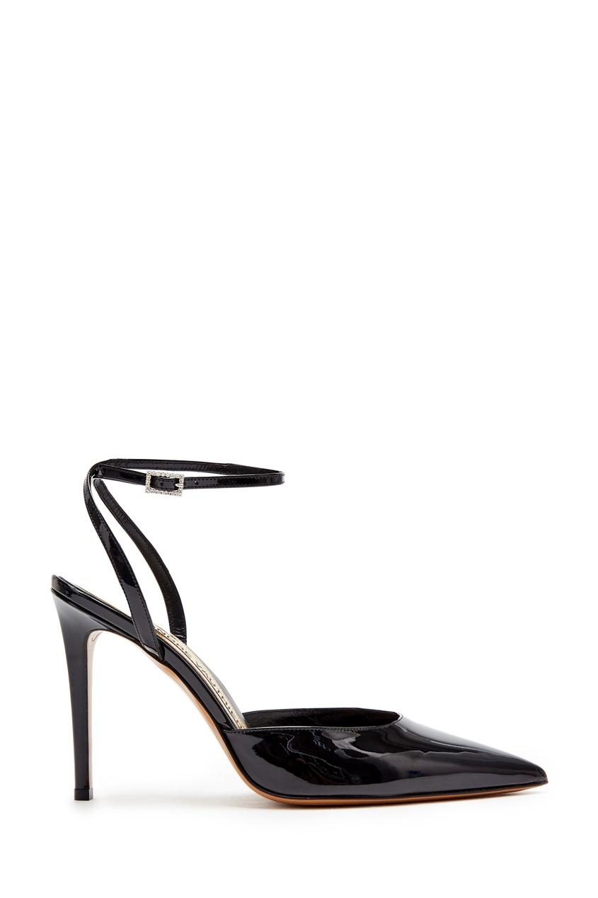 Черные лаковые туфли Carine от Alexandre Vauthier