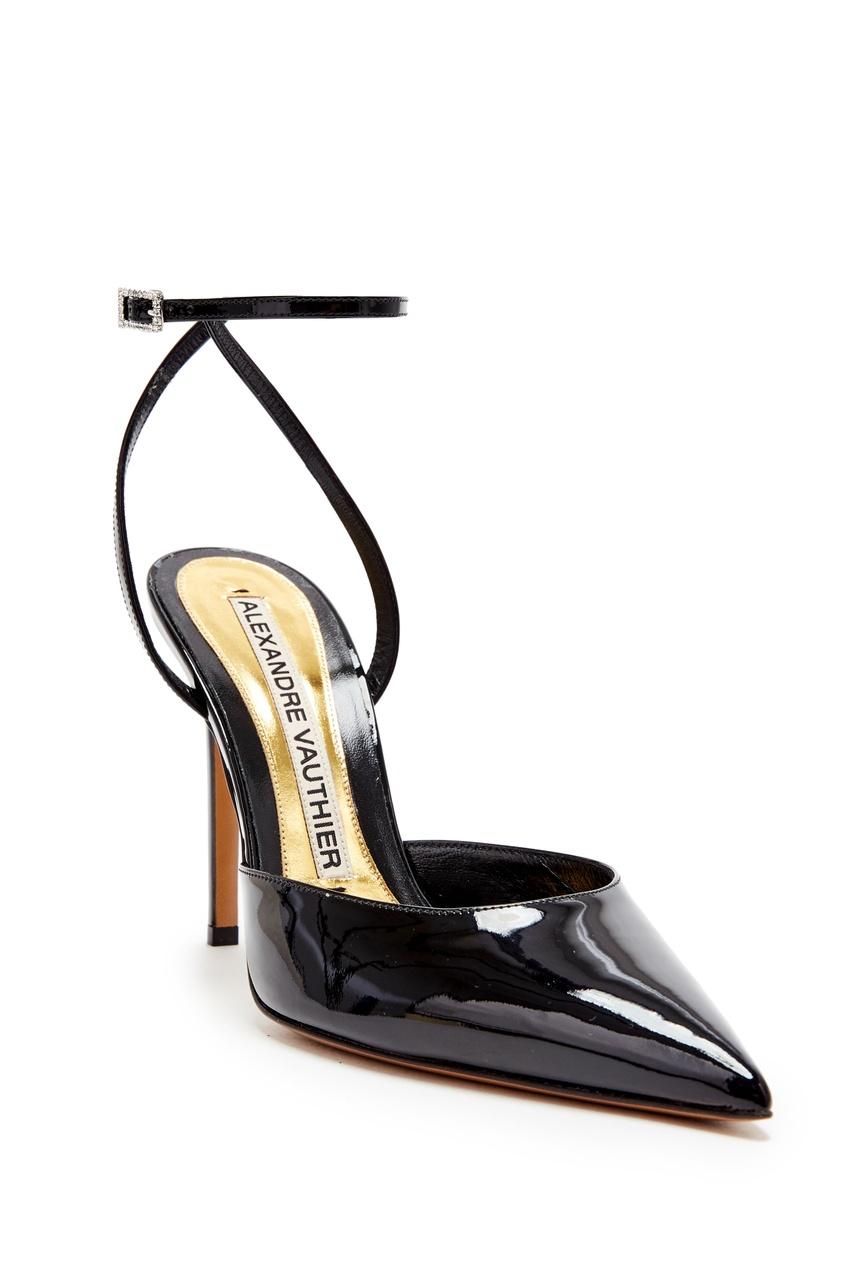 Фото 4 - Черные лаковые туфли Carine от Alexandre Vauthier черного цвета