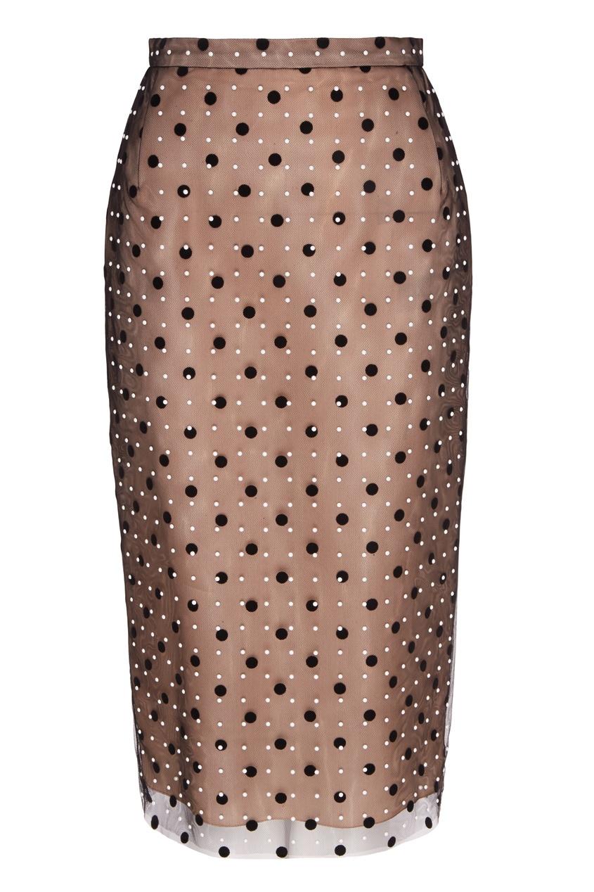 Тюлевая юбка в горох Lillie No.21