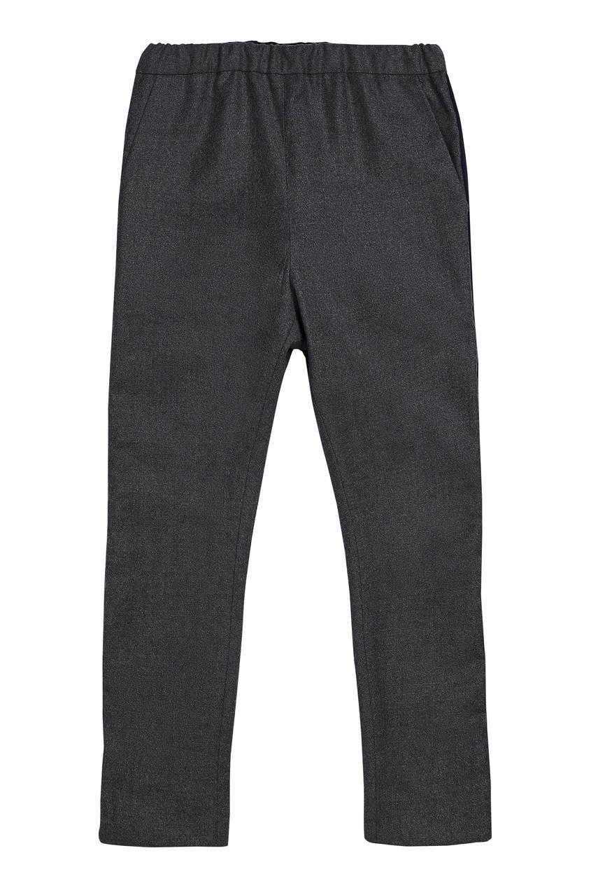 Черные брюки с эластичным поясом от Bonpoint