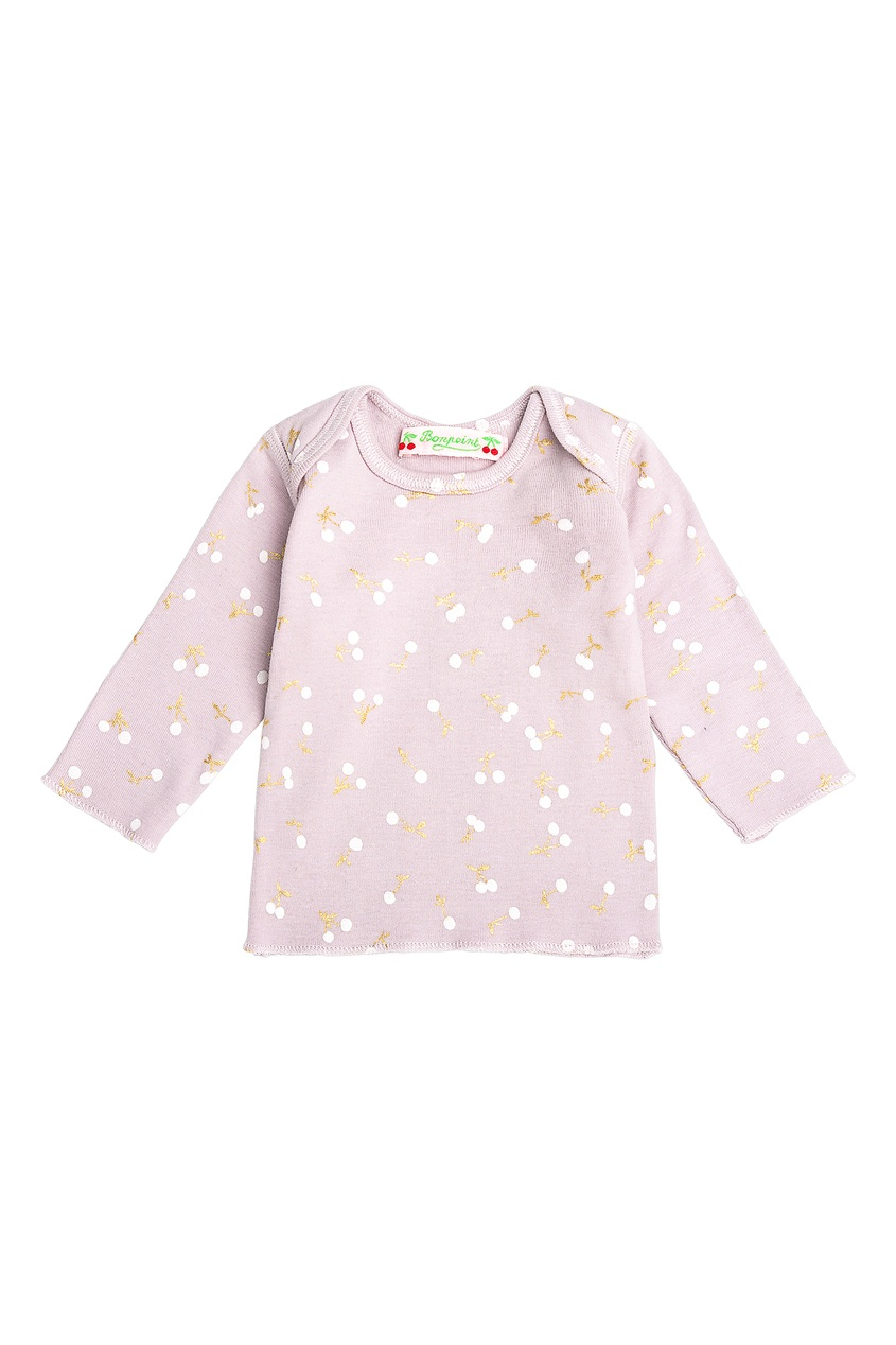 Розовая пижама с рисунком