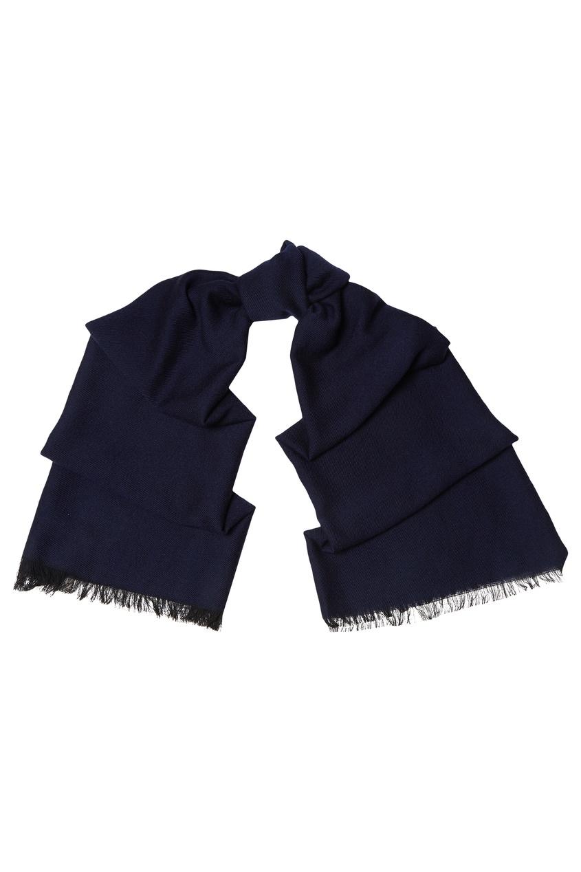 Темно-синий шарф Sandro