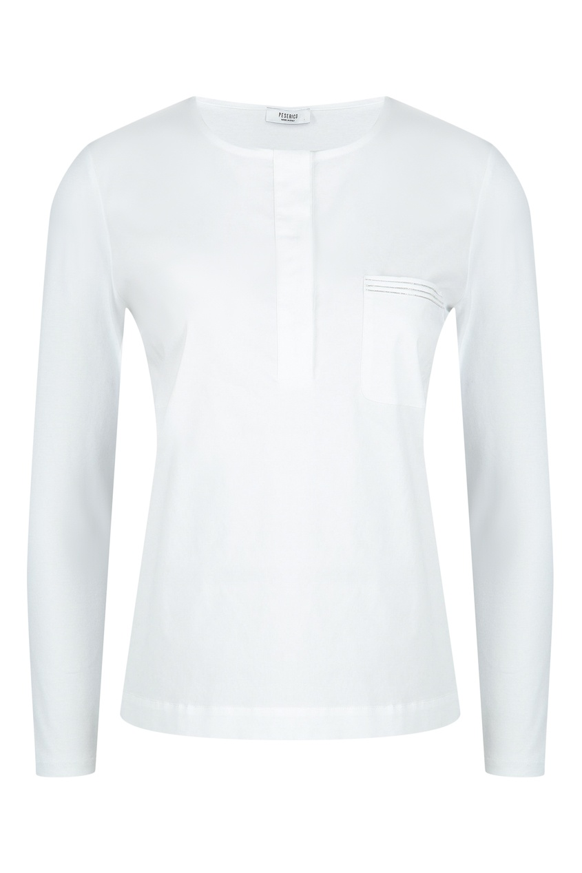 женская рубашка peserico, белая