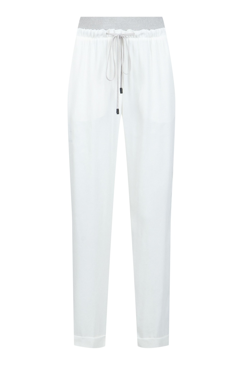 женские брюки peserico, белые