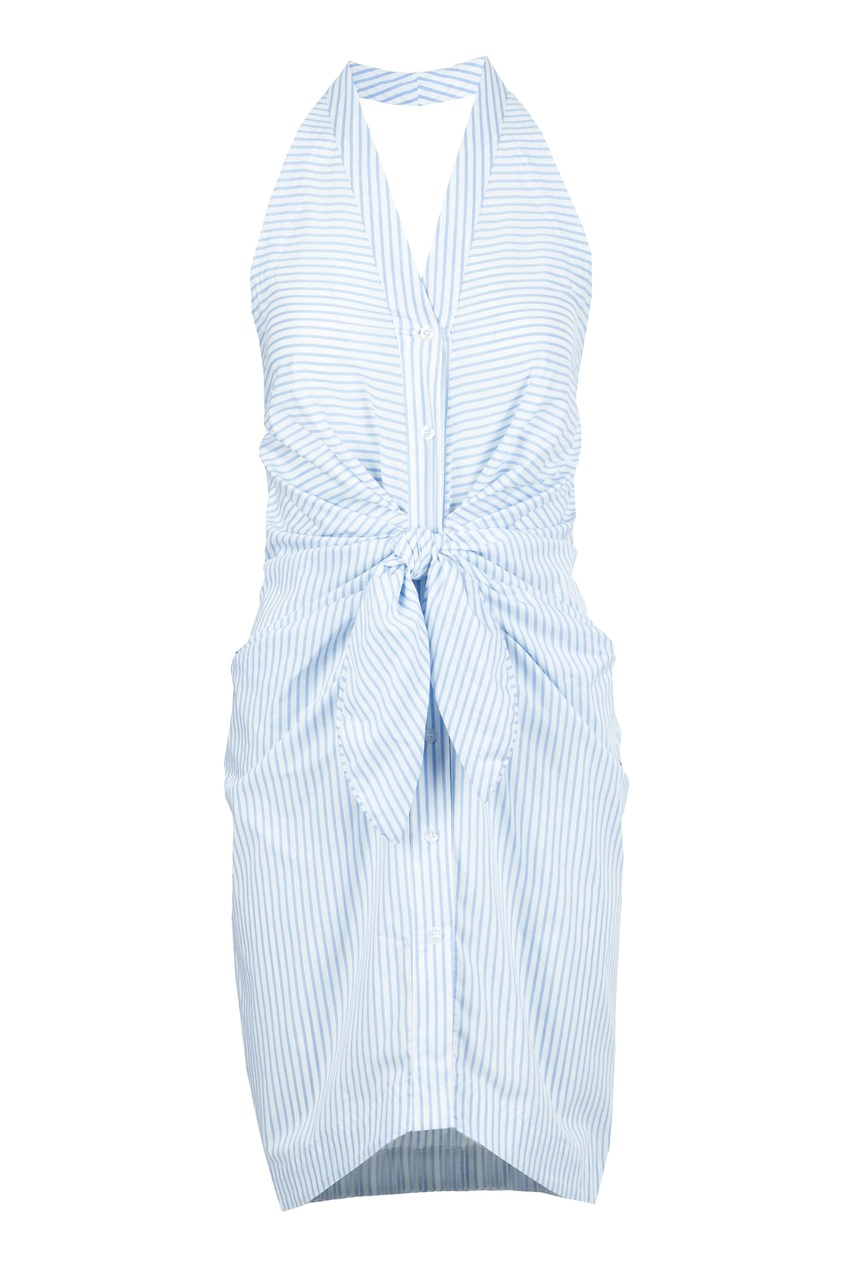 женское платье blugirl, голубое