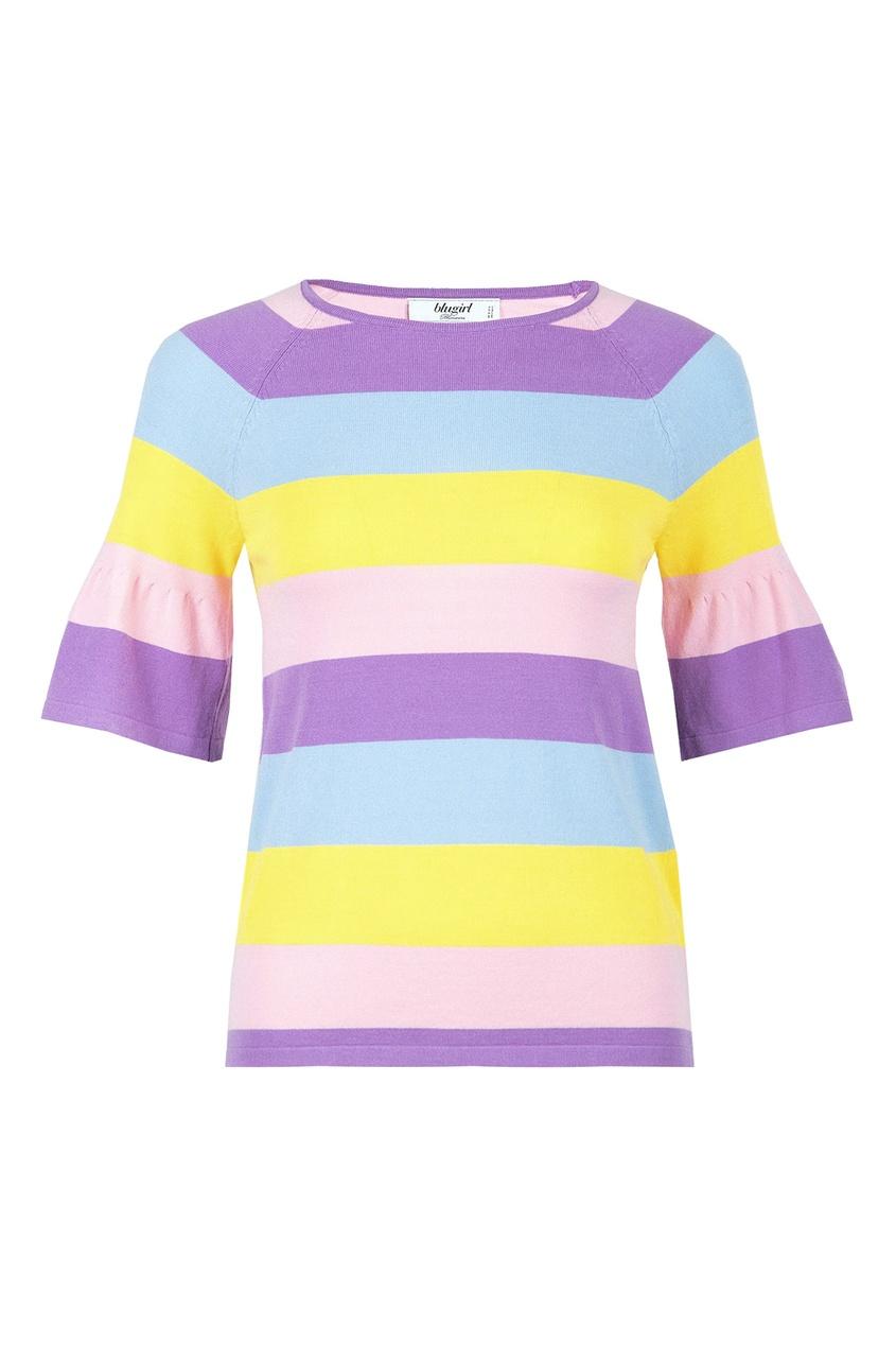 женская футболка blugirl