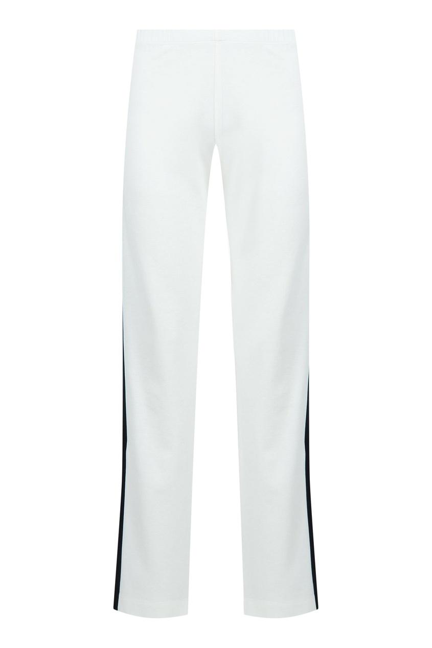 женские брюки blugirl, белые