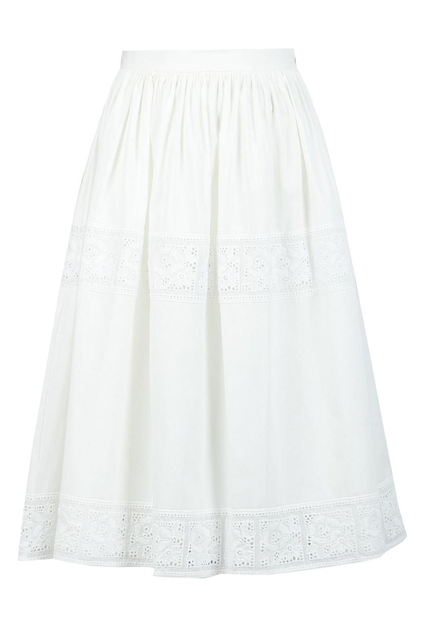 женский костюм blugirl, белый