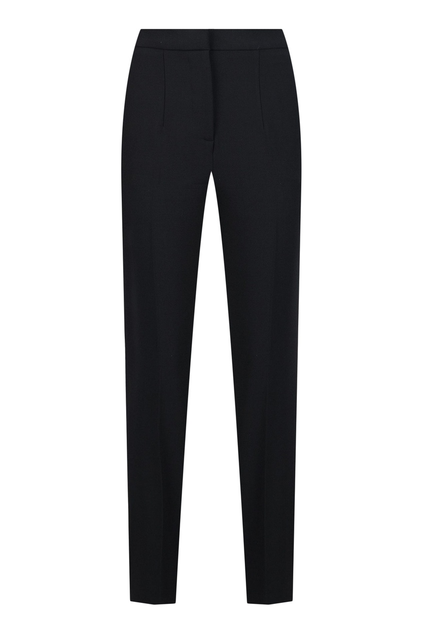 женские брюки blumarine, черные