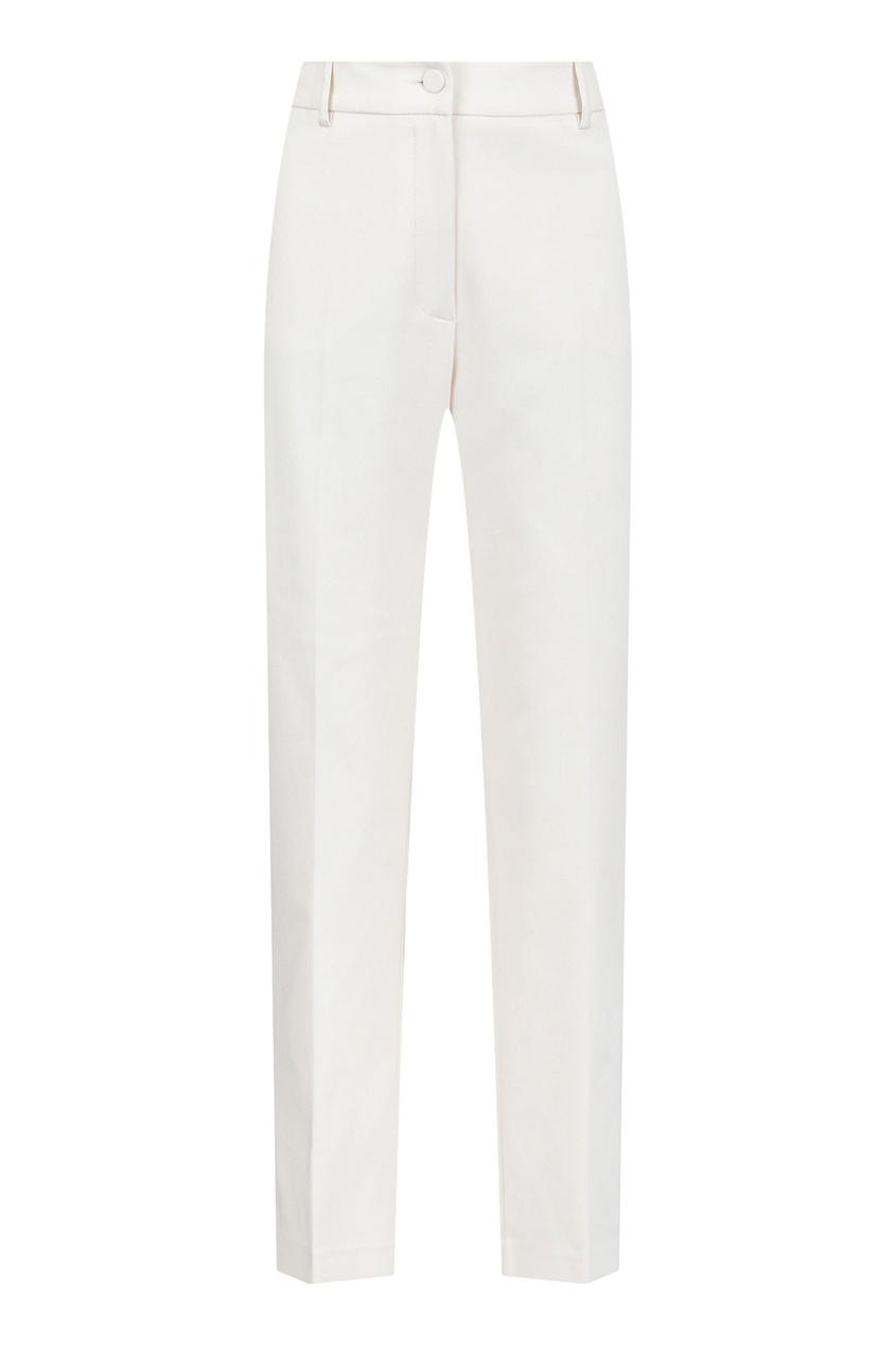 женские брюки blumarine, бежевые