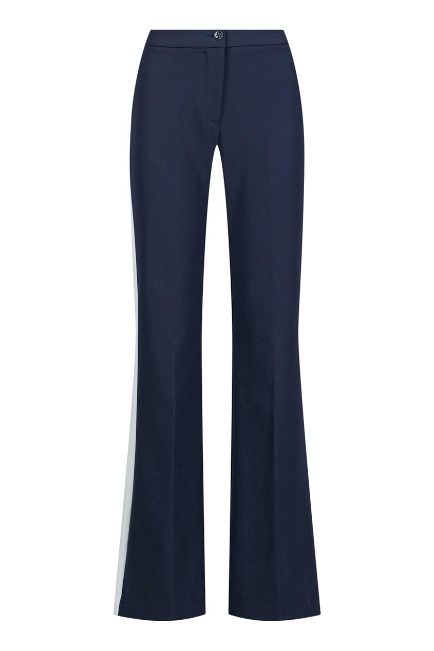 женские брюки blugirl, синие