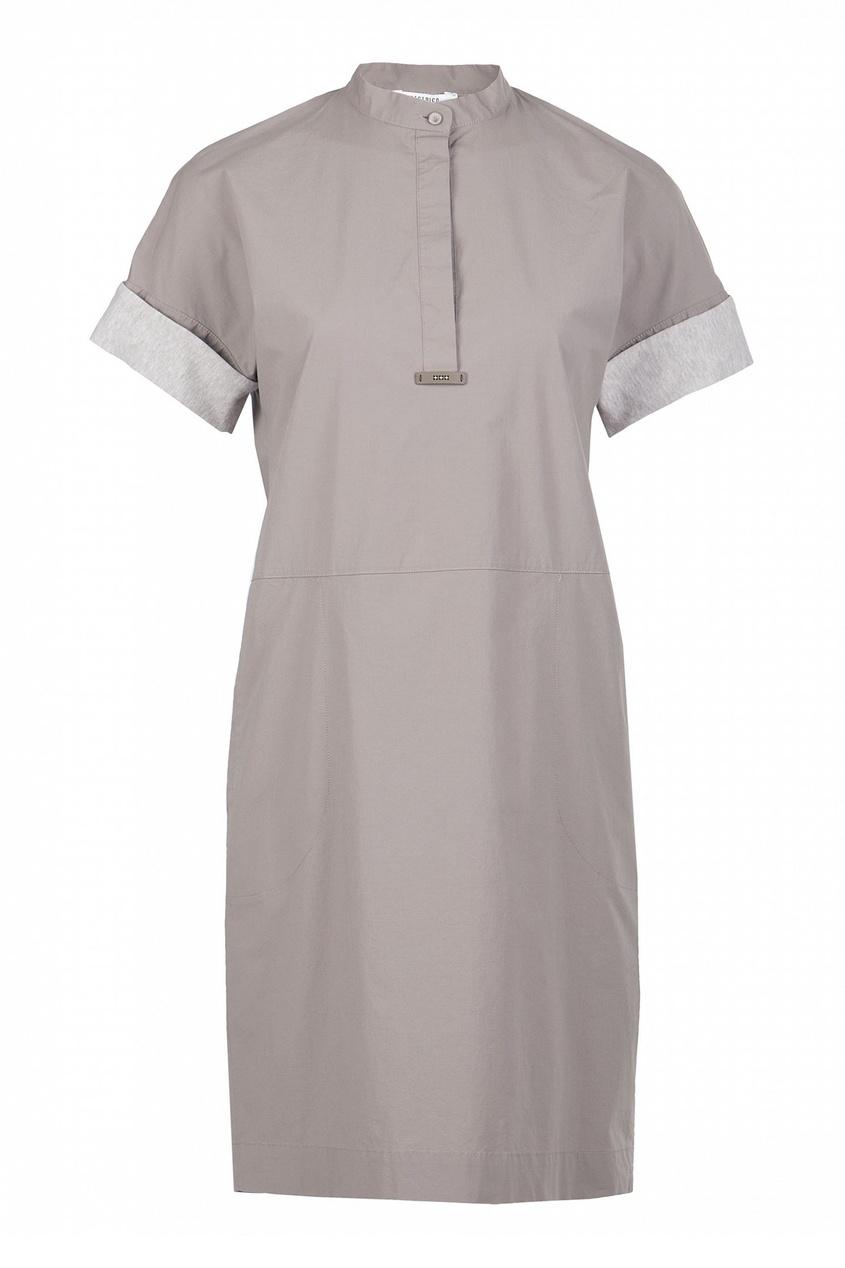 женское платье peserico, бежевое