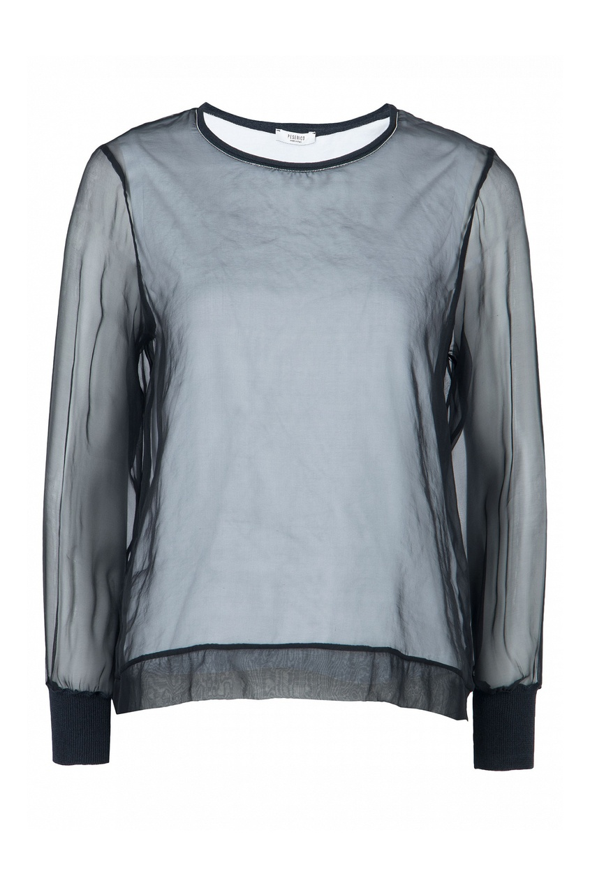 женская блузка peserico, черная