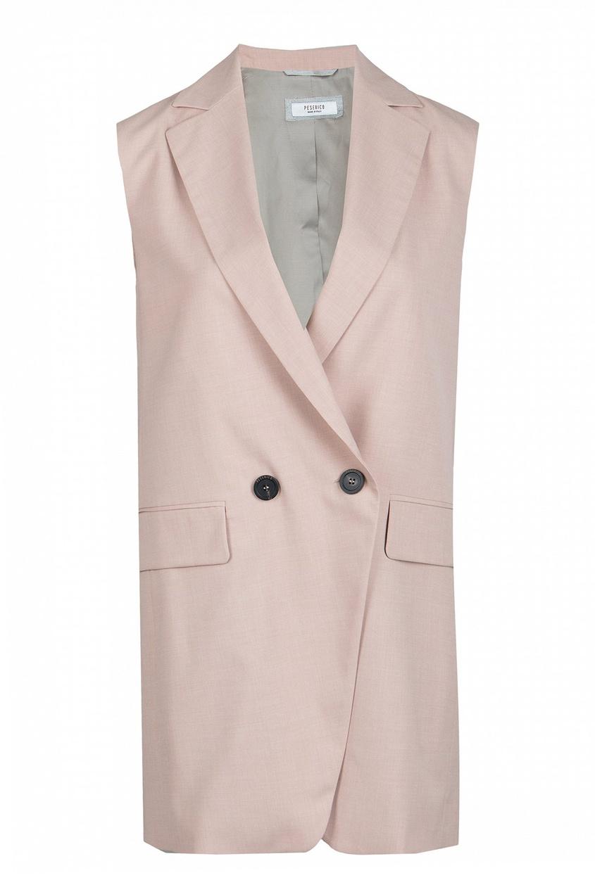 женский жакет peserico, розовый