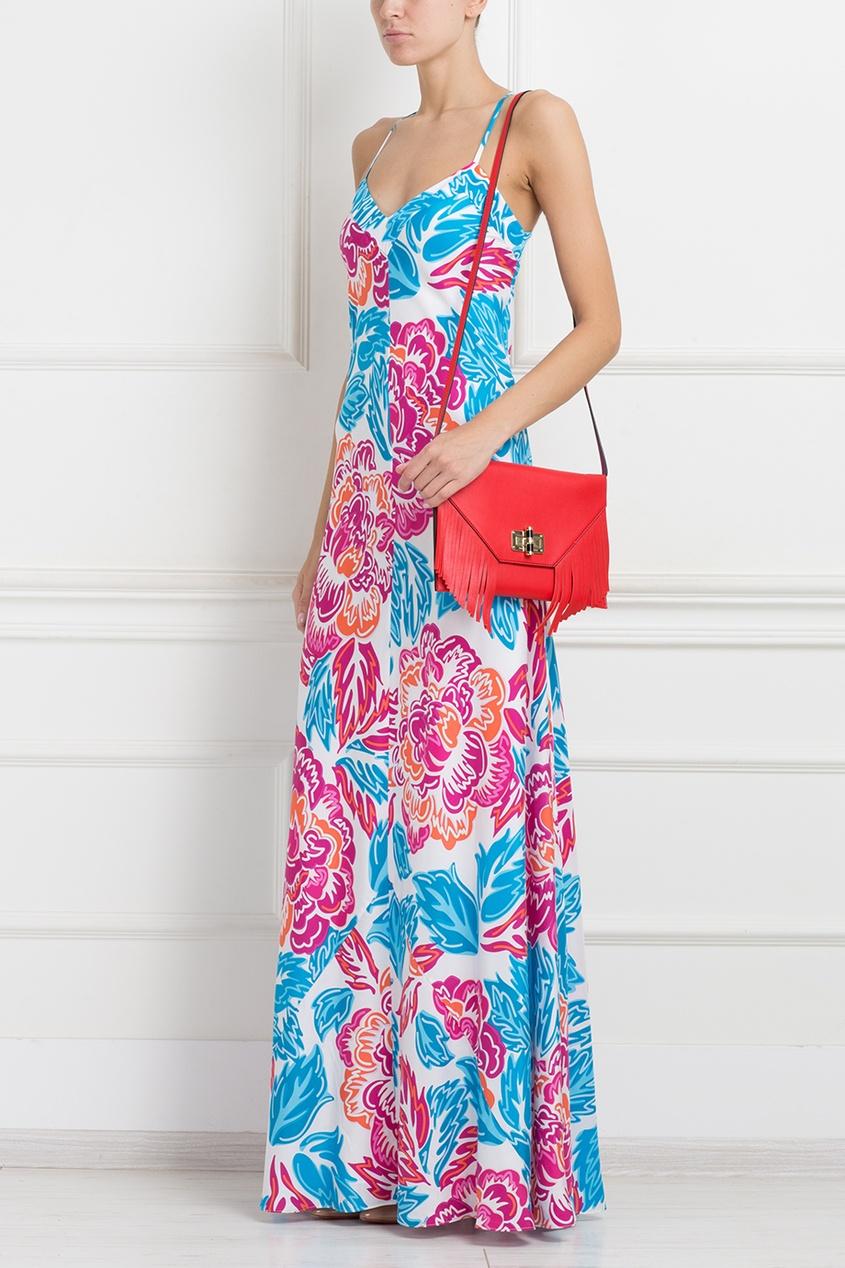 Diane von Furstenberg Шелковое платье DvF Barths