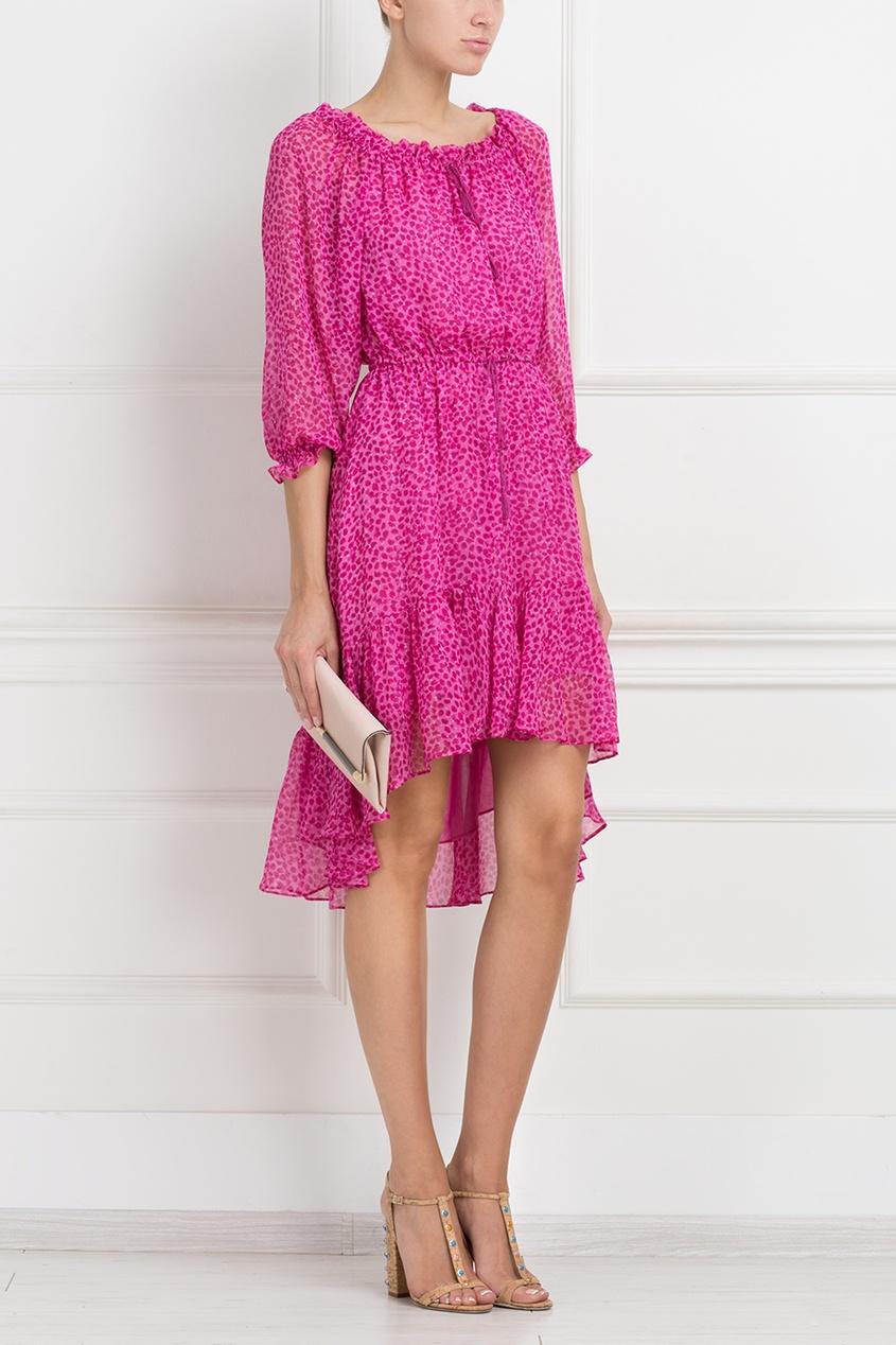 Шелковое платье DvF Camila
