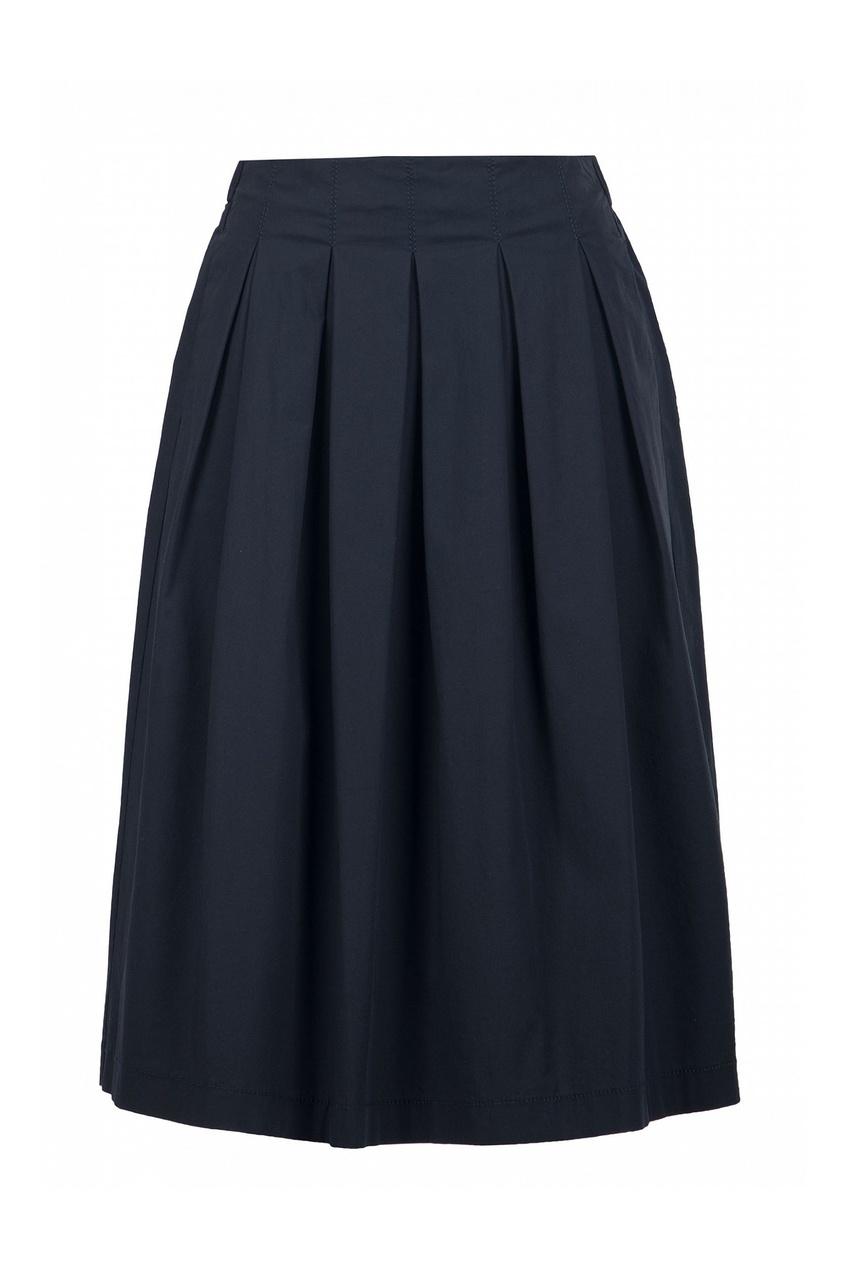 женская юбка peserico, синяя