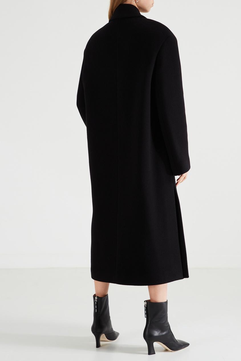 Acne Studios / Черное шерстяное пальто