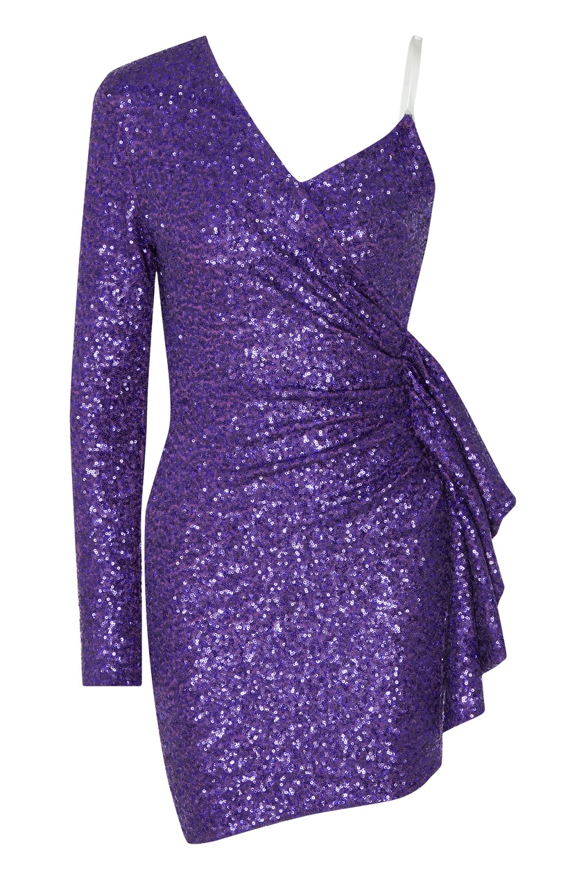 женская туника galina podzolko, фиолетовая