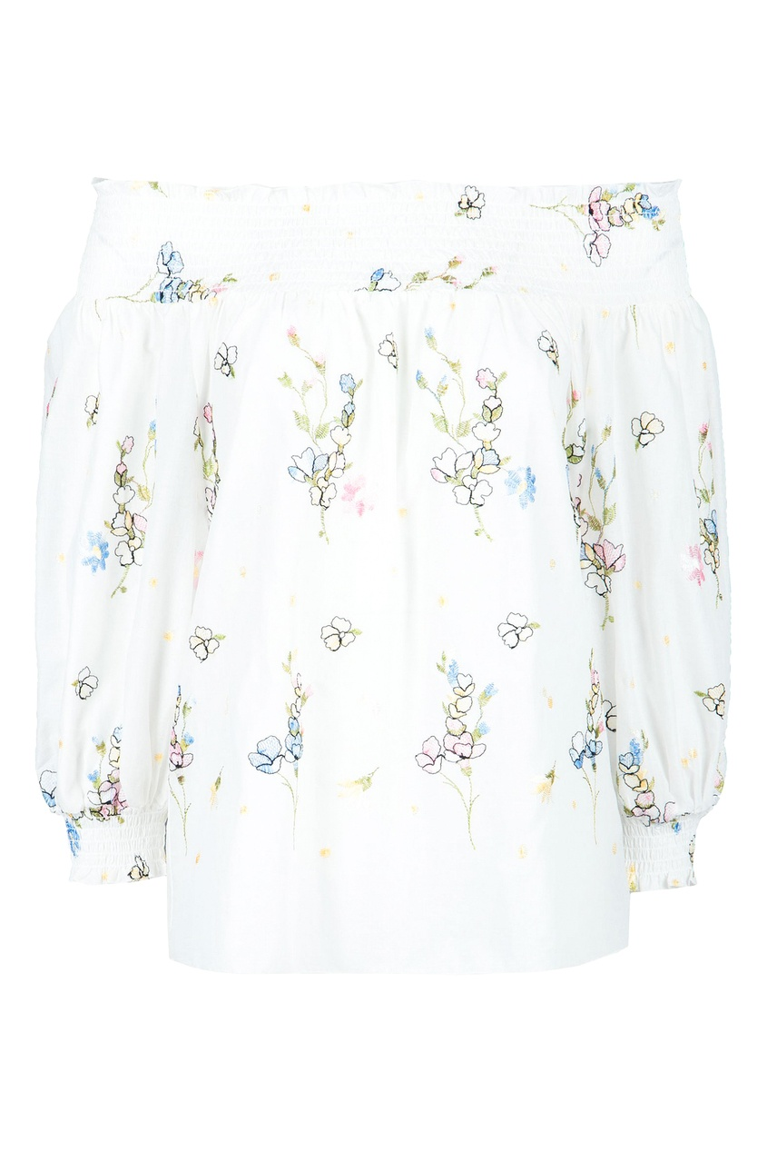 женская блузка blugirl, белая