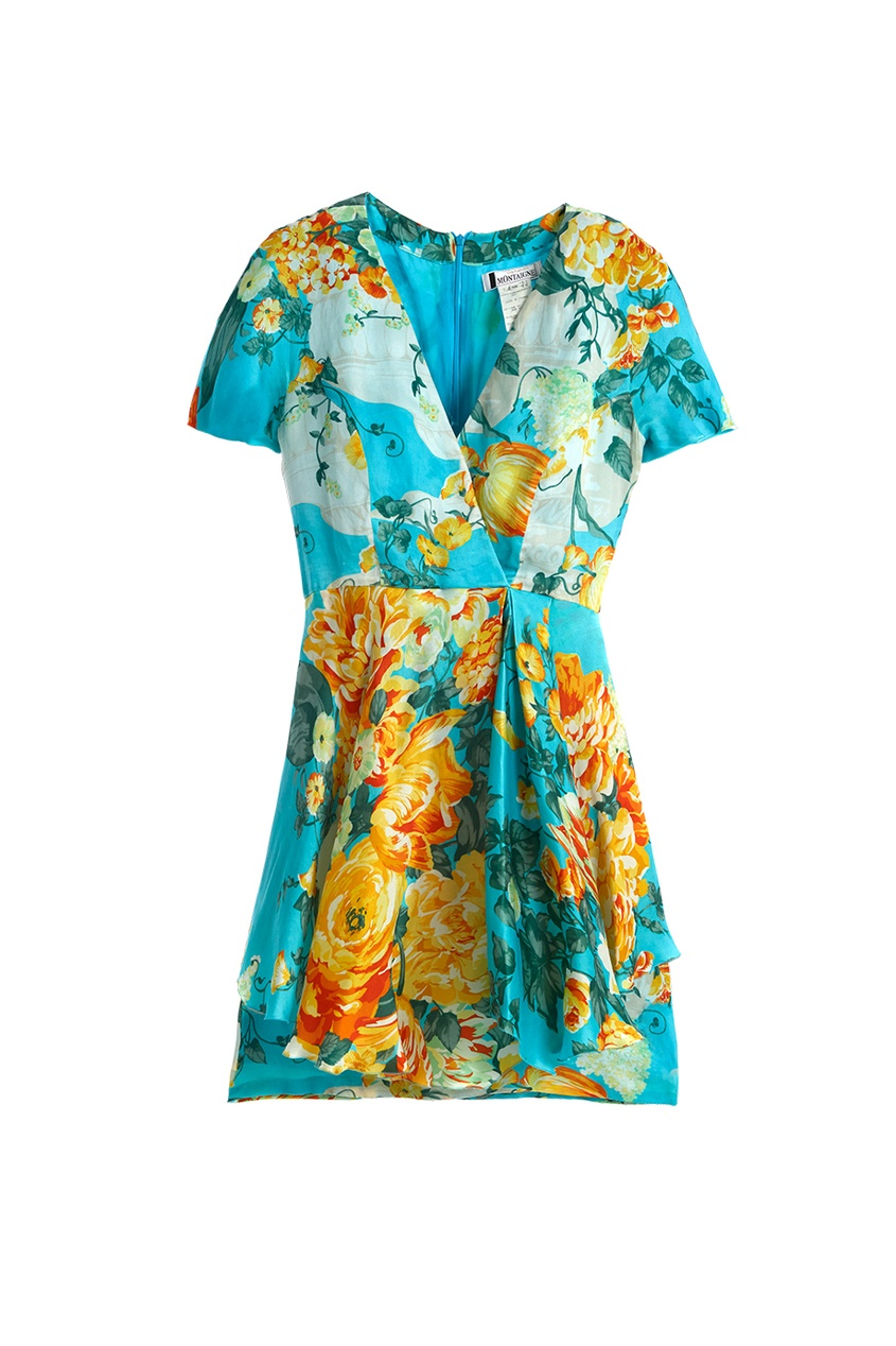 Guy Laroche Vintage Шелковое платье