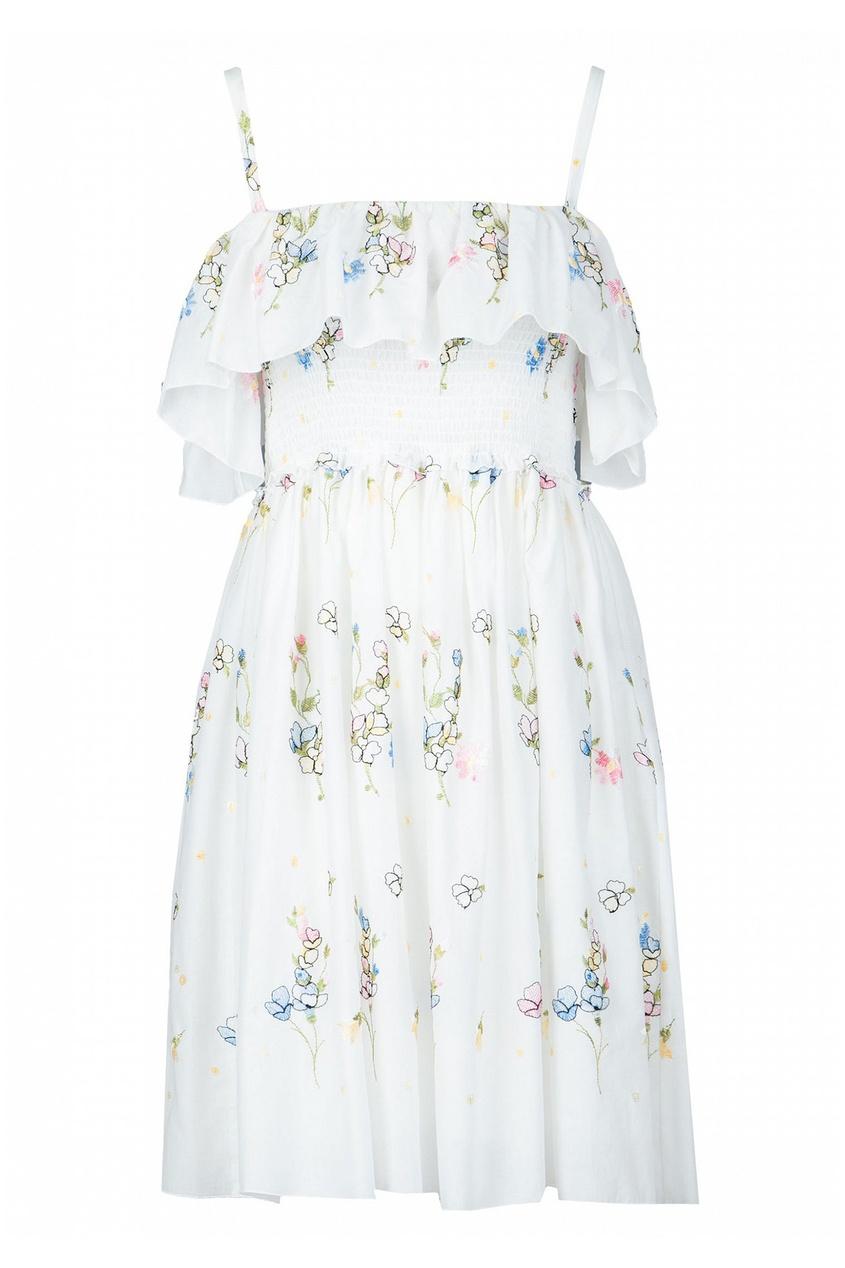 женское платье blugirl, белое