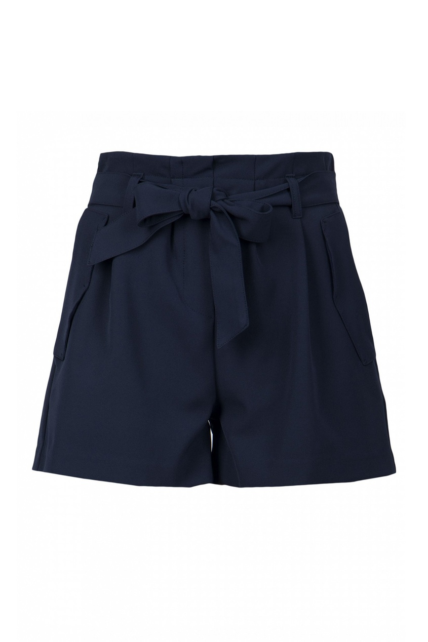 женские шорты blugirl, синие