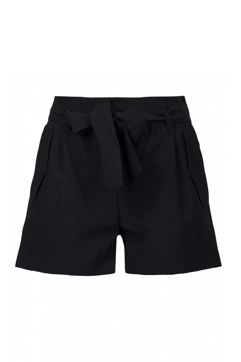 женские шорты blugirl, черные