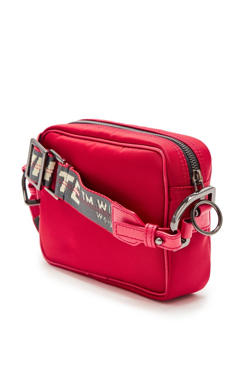 мужская сумка off-white, красная