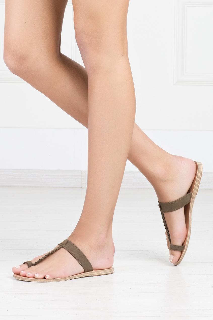 Замшевые сандалии Melpomeni