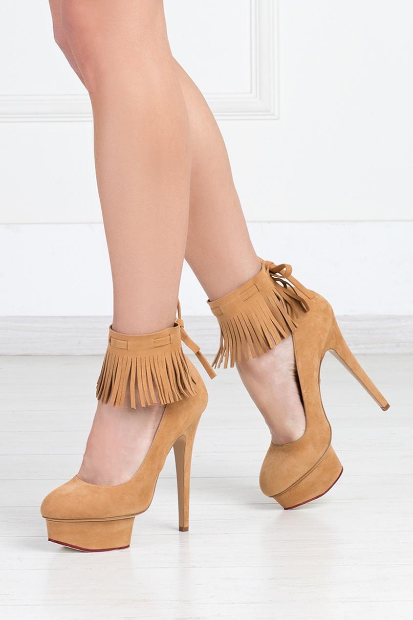 Замшевые туфли Sundance Dolly