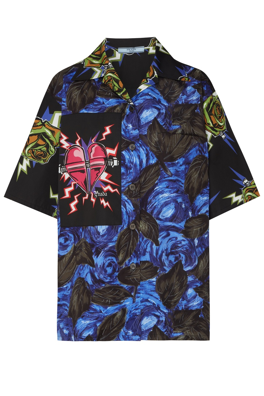 женская блузка prada