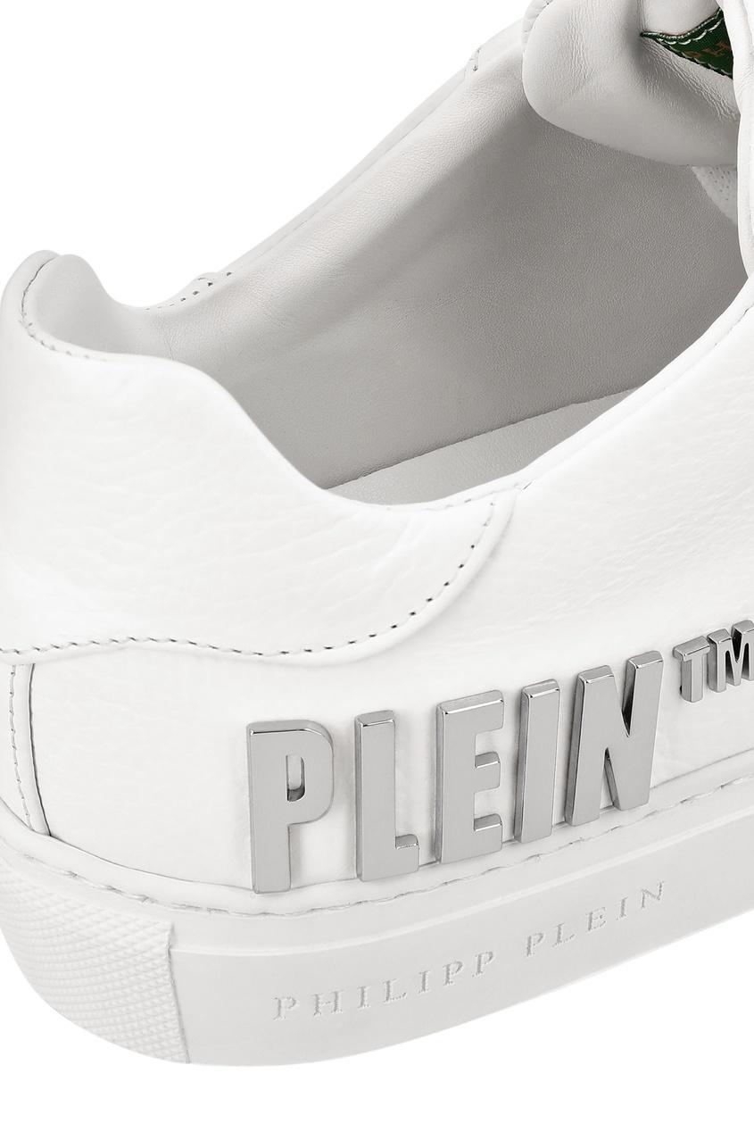 мужские кеды philipp plein, белые