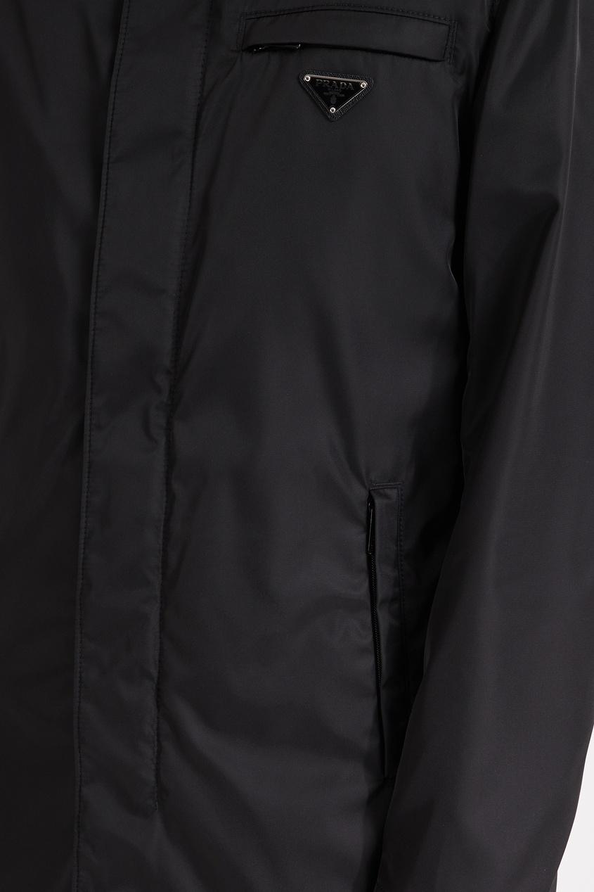 Prada / Удлиненный дождевик из нейлона