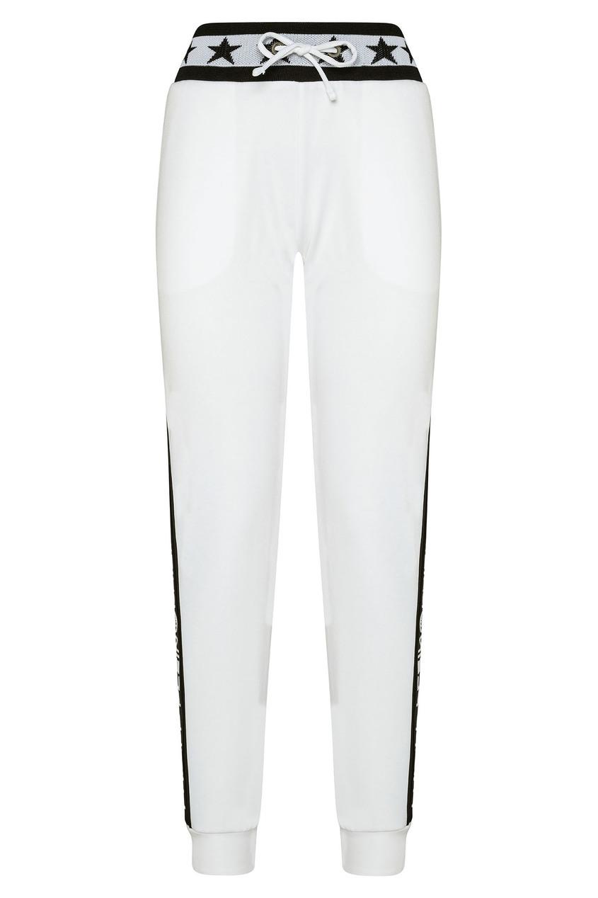 женские брюки philipp plein, белые