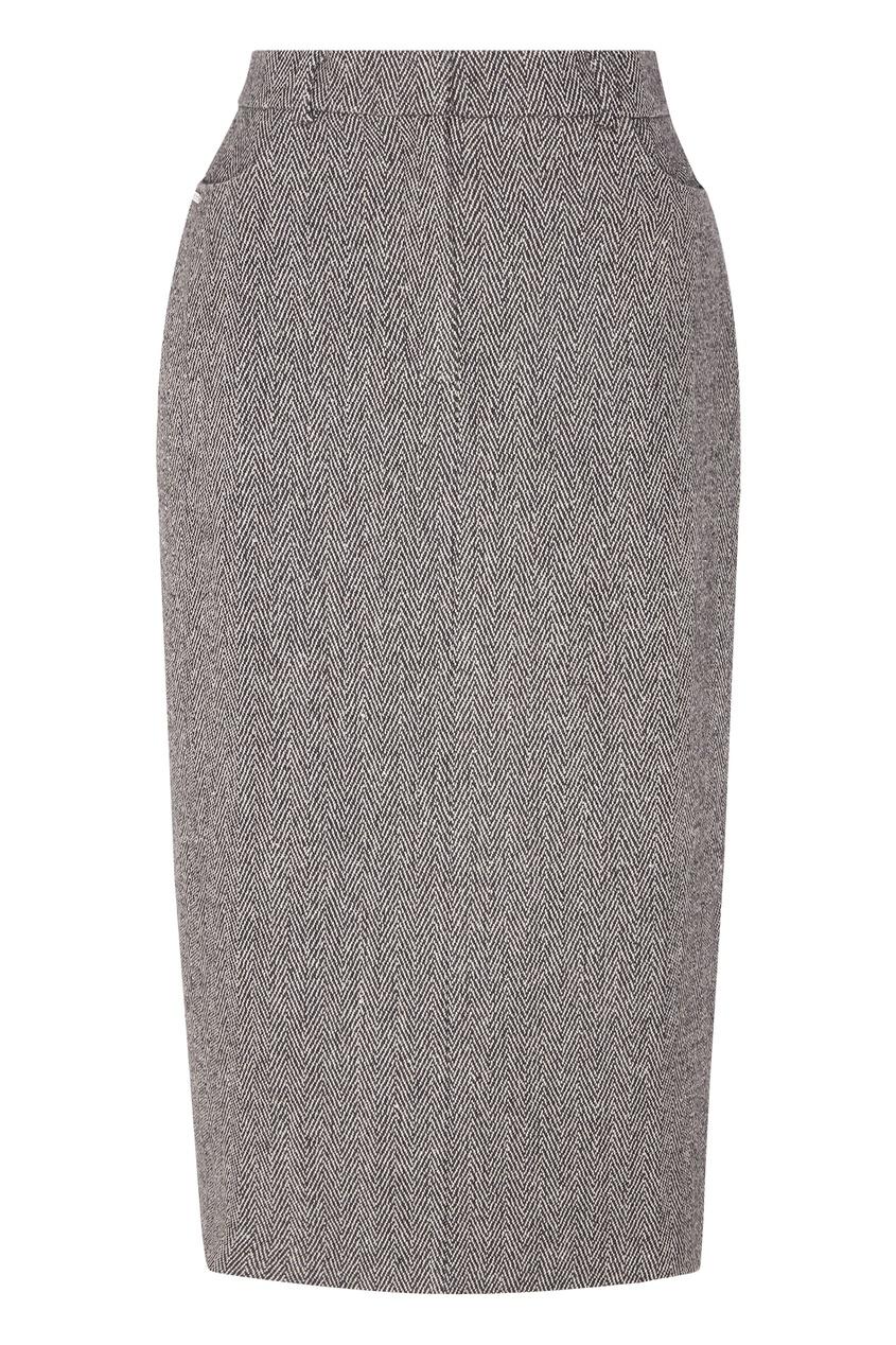 женская юбка laroom, серая