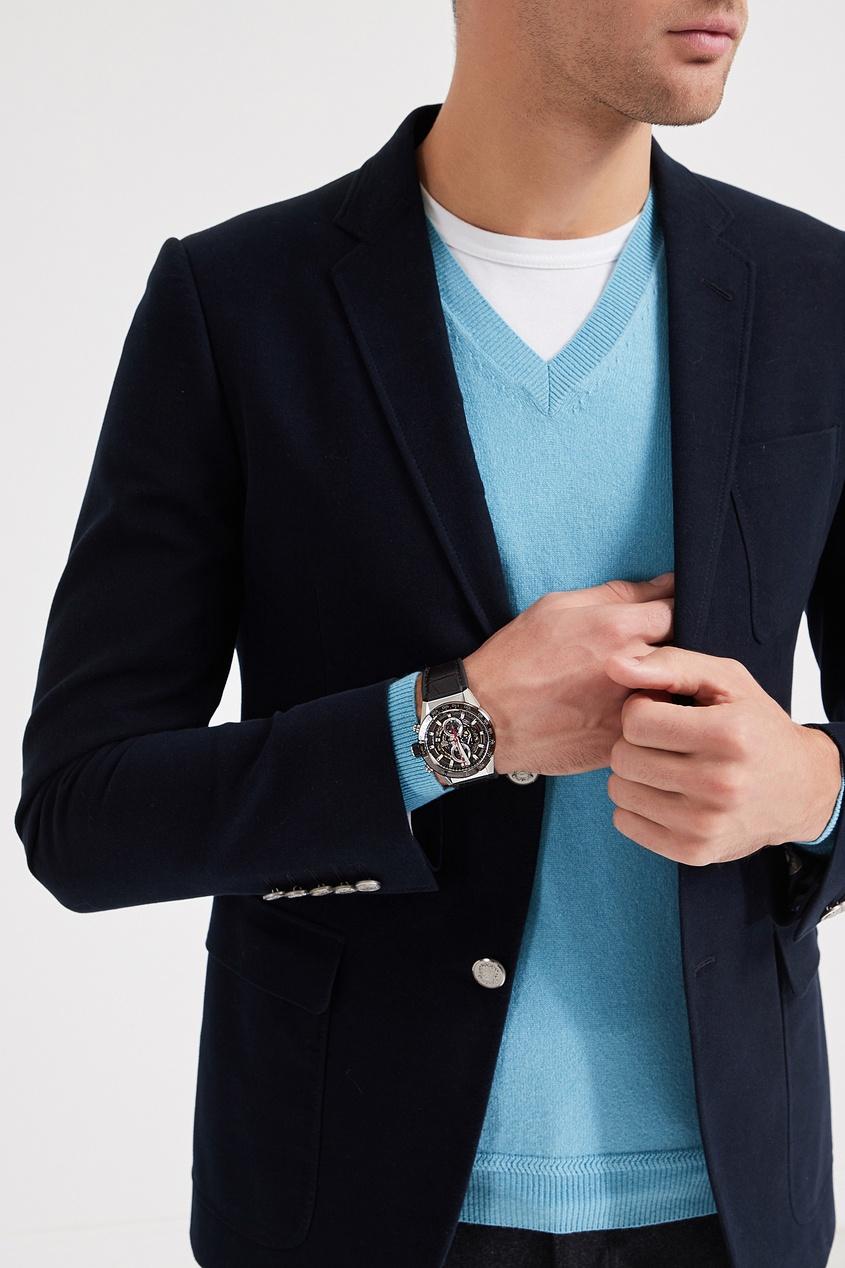 Фото 4 - CARRERA Calibre Heuer 01 Автоматические мужские часы с коричневым циферблатом цвет без цвета