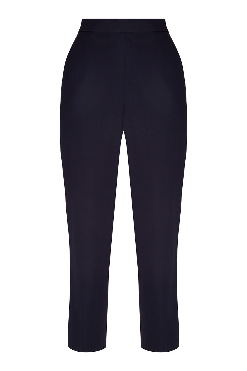 Темно-синие трикотажные брюки от St. John