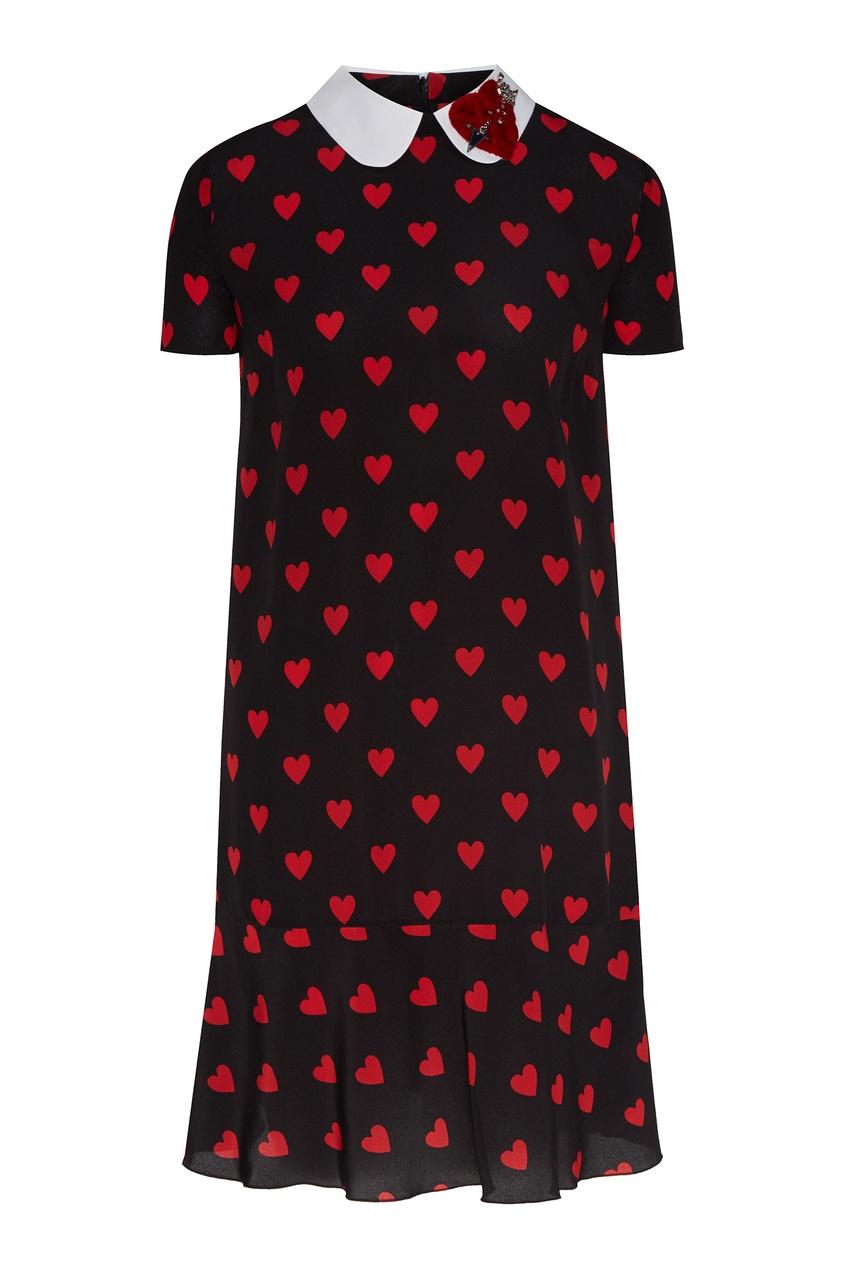 женское платье red valentino