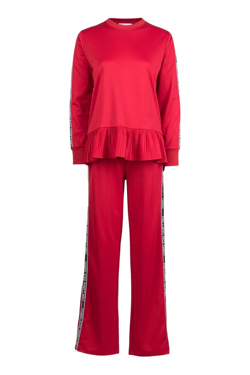 женский костюм red valentino, красный