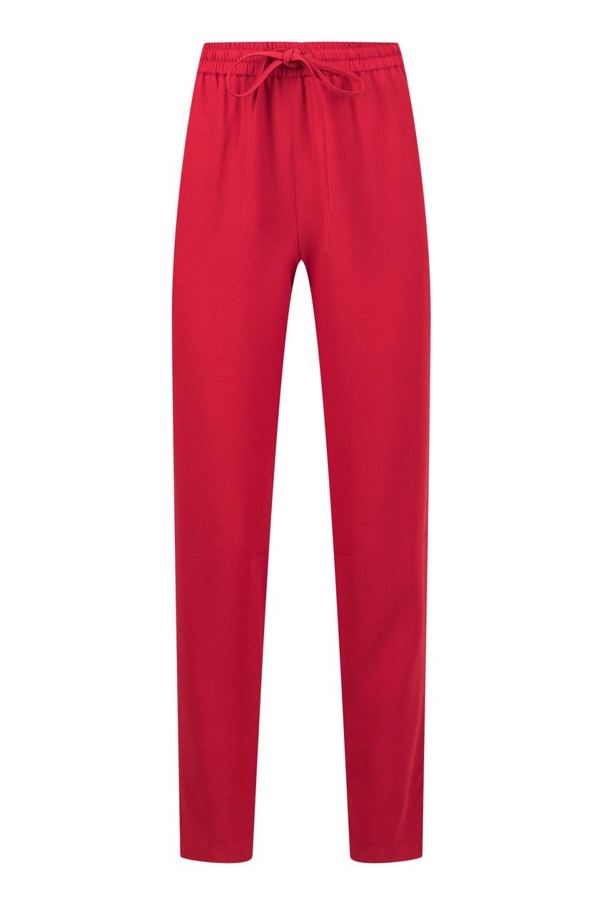 женские брюки red valentino, красные