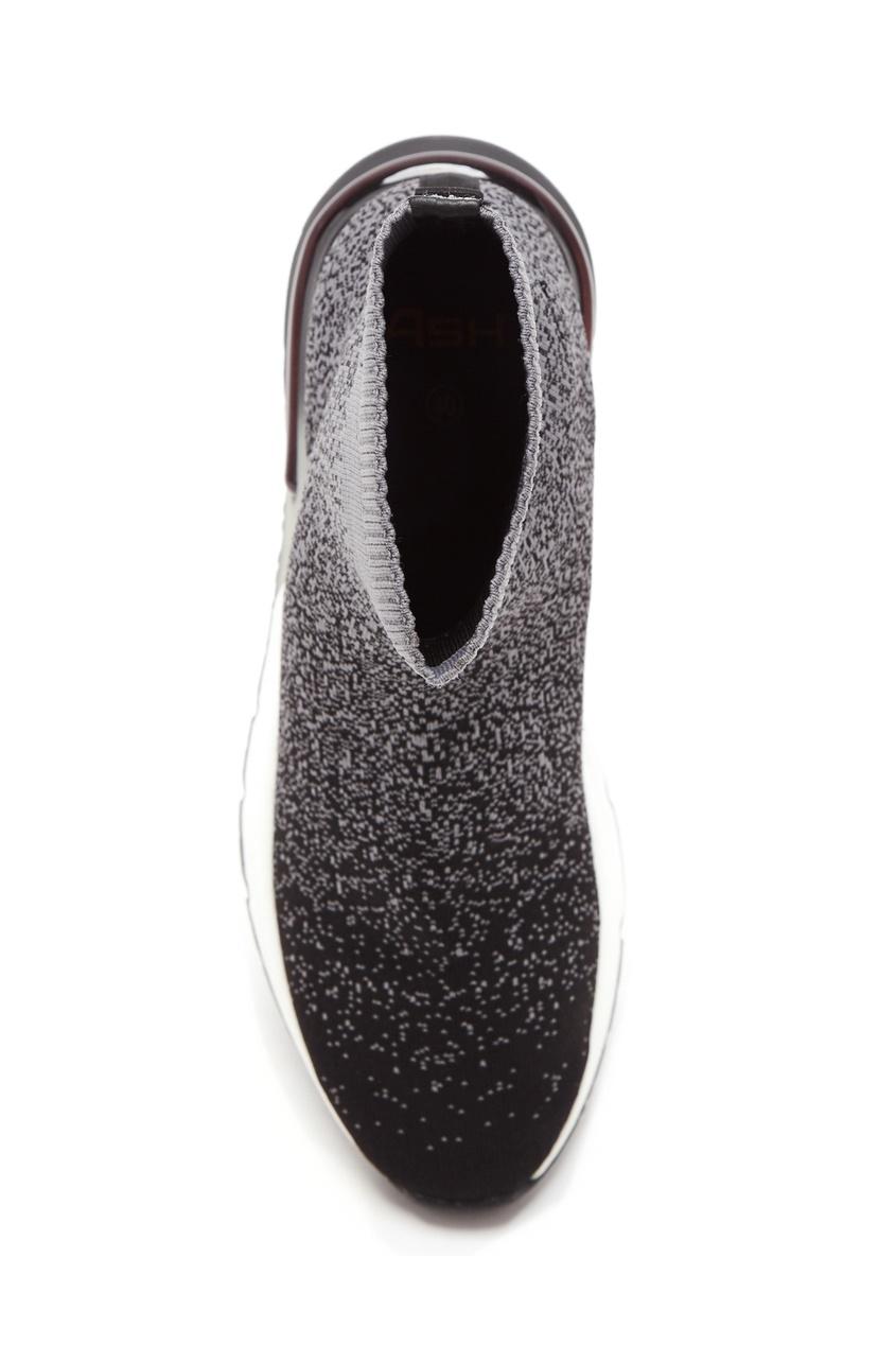 Фото 4 - Серые кроссовки Kory цвет multicolor