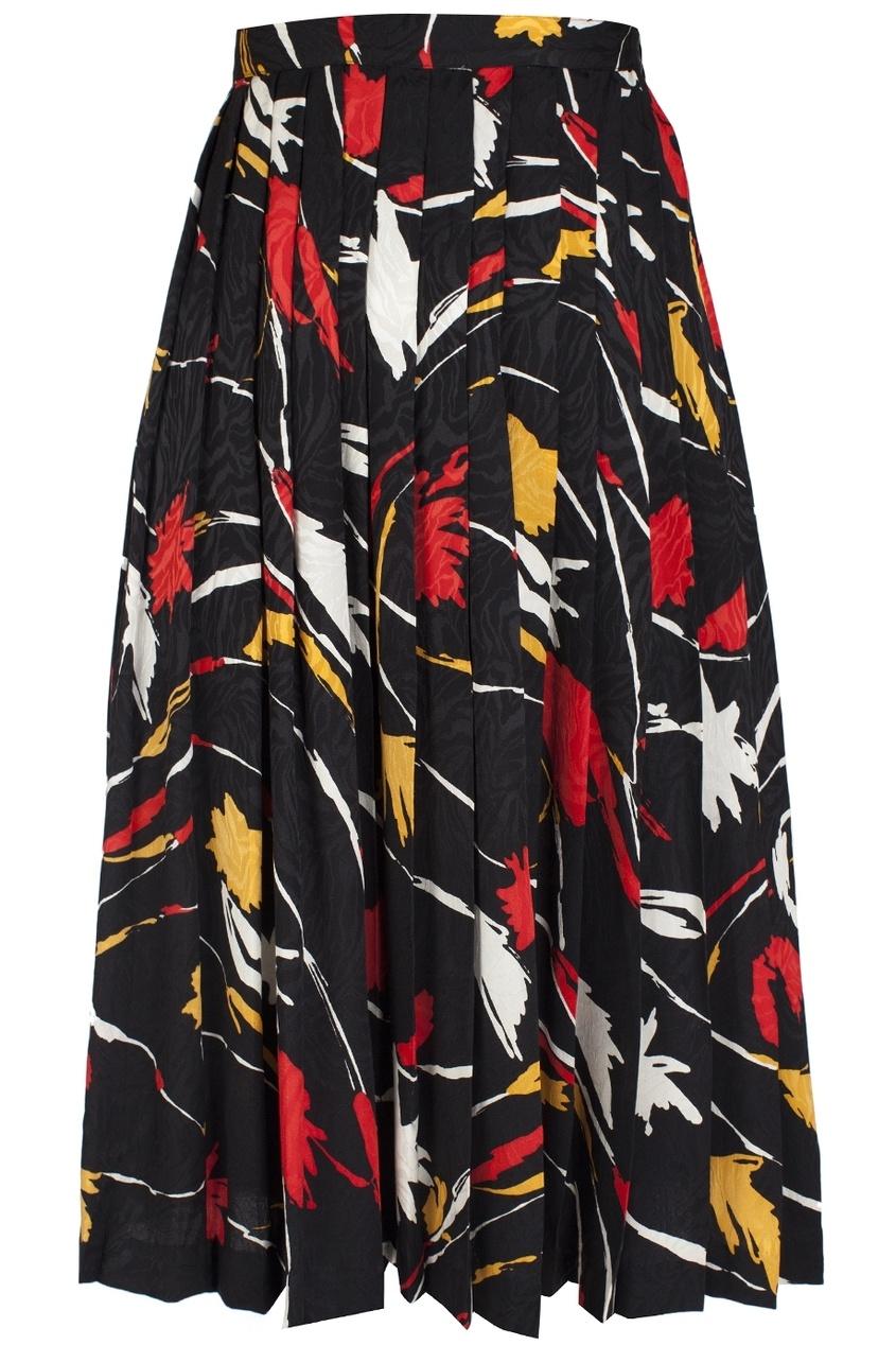 Шелковая юбка (80-е)