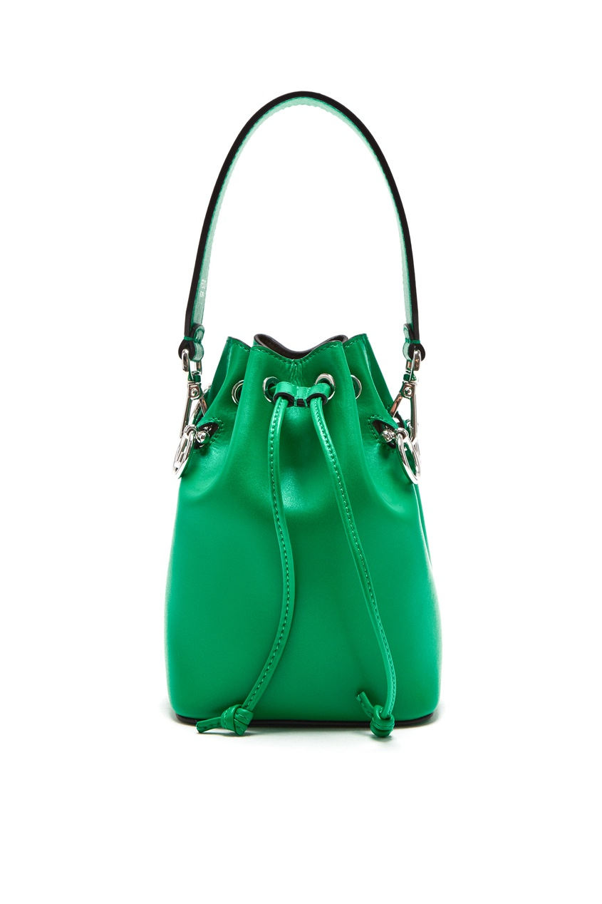 женская сумка fendi, зеленая