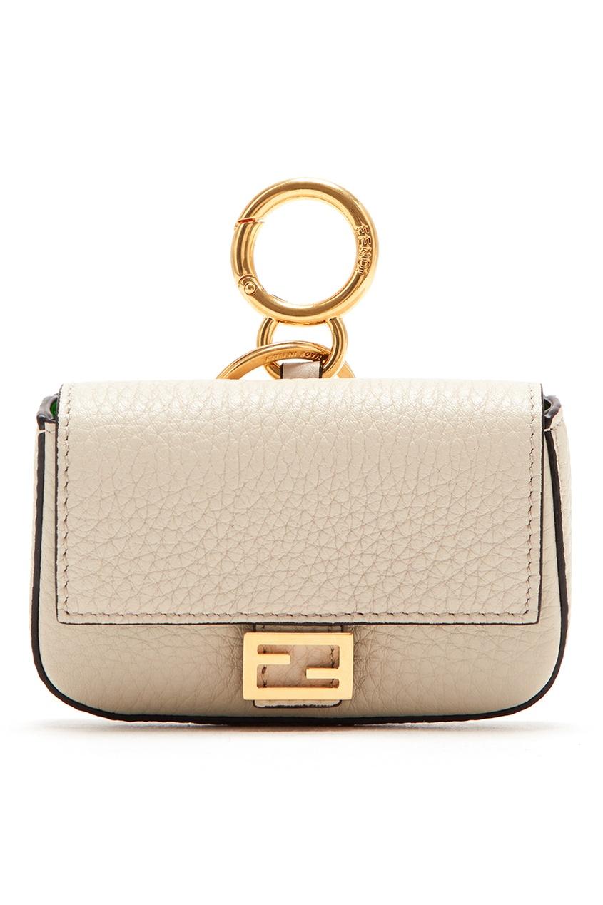 женская сумка fendi, белая