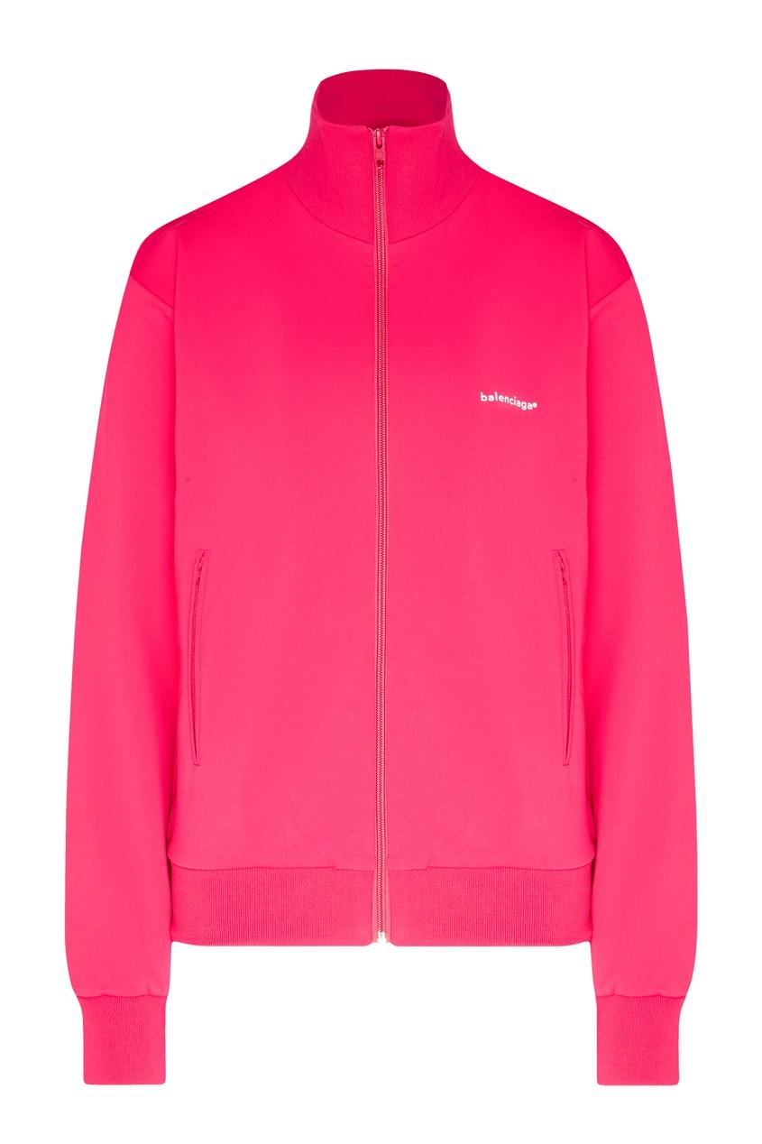 женская олимпийка balenciaga, розовая