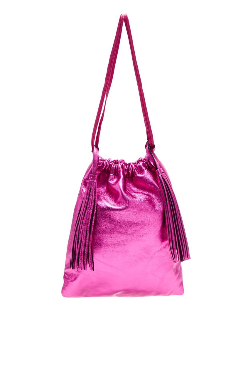 Сумка Irene цвета фуксии Attico 1869148048 розовый фото