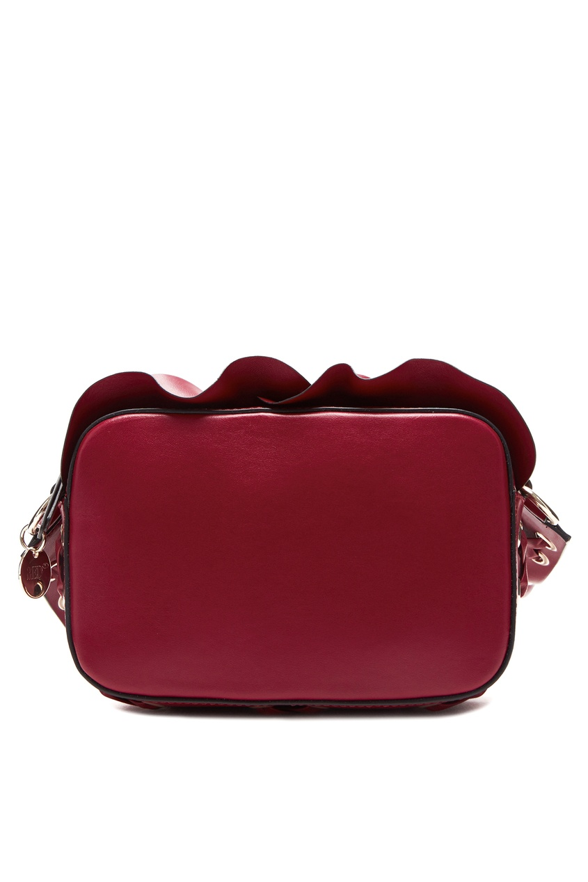 женская сумка red valentino, красная